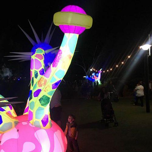 Inflatable Space Plant Sculpture 2