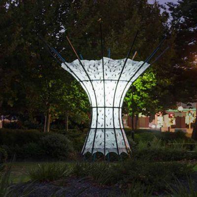Tree of Liight Sculpture
